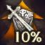 Item XP +10%