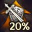 Item XP +20%